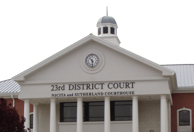 23rd district court covering Taylor, Michigan